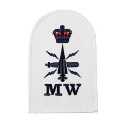 Mine Warfare (MW) - Petty Officer (PO) - Royal Navy Badges