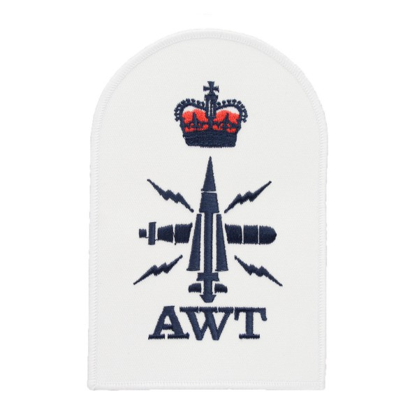 Above Water Tactical (AWT) - Petty Officer (PO) - Royal Navy Badge