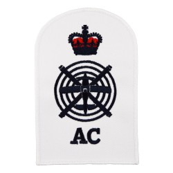 Aircraft controller (AC) - Chief Petty Officer (CPO) - Royal Navy Badge