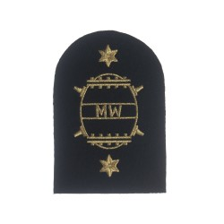 Mine Warfare (MW) - Leading Rate - Royal Navy Warfare Branch Badges