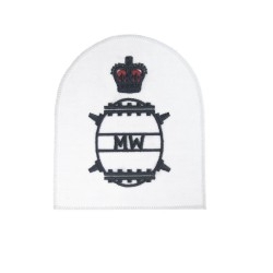 Mine Warfare (MW) - Chief Petty Officer (CPO) - Royal Navy Warfare Branch Badges