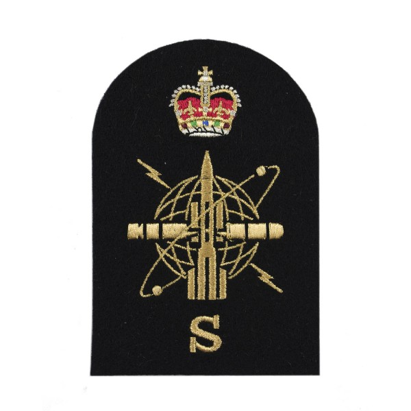 Weapon Engineering Branch Sensor - Petty Officer - Royal Navy Badges