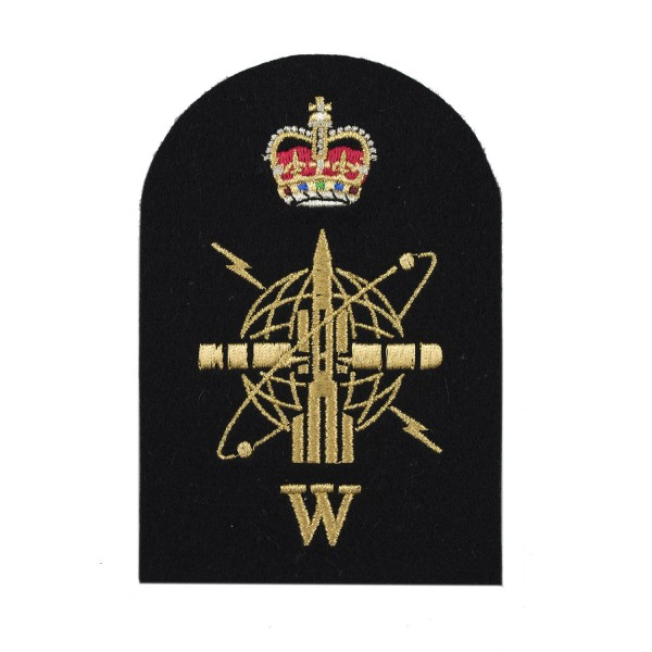 Weapon Engineering Branch Weapons - Petty Officer - Royal Navy Badges