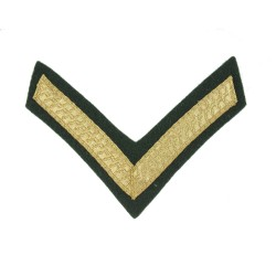 1 Bar Chevron Lance Corporal (LCpl) - Royal Marines - Royal Navy Badge