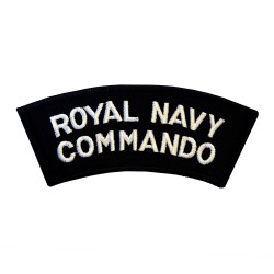 Royal Navy Commando – Shoulder Title Flash - Royal Navy Badge