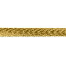 19mm – Gold – Metallised Polyester – Hercules Flat Braid