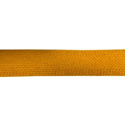 35mm – Indian Yellow – Worsted – Flat Braid