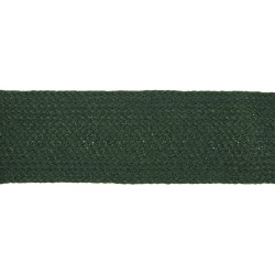 44mm Jade Green Worsted Flat Braid