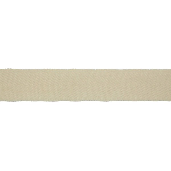 19mm – Natural White – Worsted – Herringbone Lace