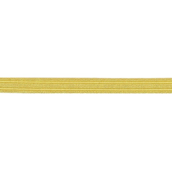 12mm – Gold – Metallised Polyester – Naval Lace