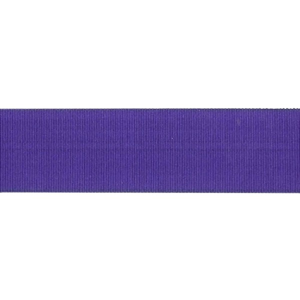 25mm Royal Blue Petersham Ribbon