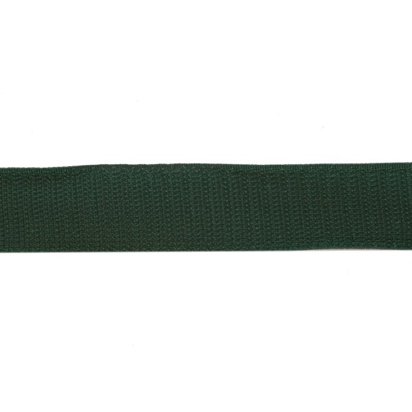 30mm Bottle Green Polyester Tac-Flex Velcro - Hook