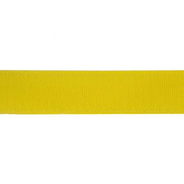 38mm Yellow Polyester Tac-Flex Velcro - Hook