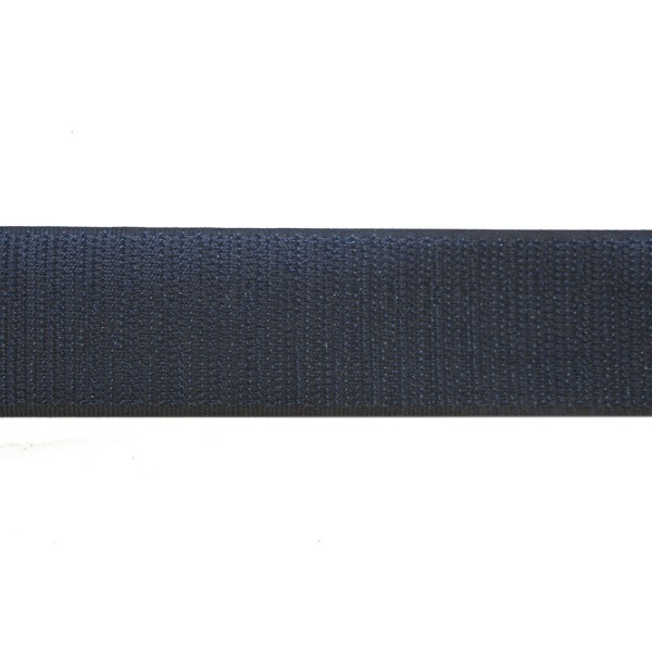 38mm Dark Blue Polyester Tac-Flex Velcro - Hook