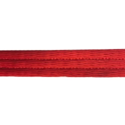20mm - Twill Webbing - Polyester Double Weave - Red