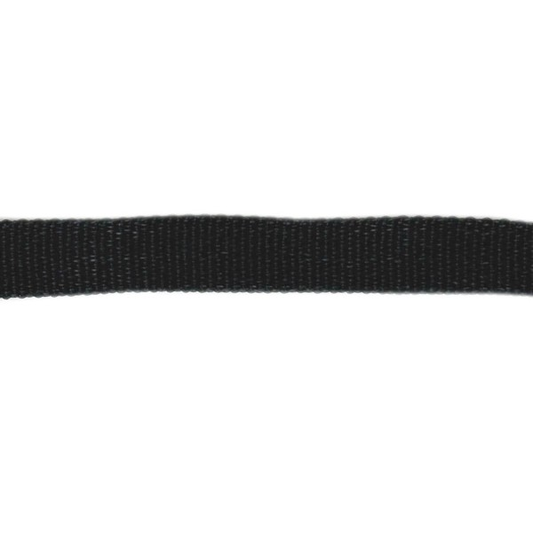 13mm – Black – Polyethylene – Courlene Webbing