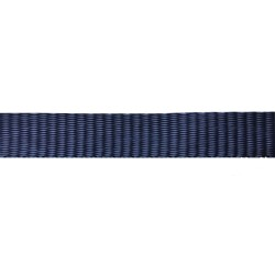 25mm Blue Navy Plain Weave Polyethylene - Self Binding Weave - Webbing