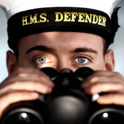HMS Defender Cap Tally - We sell a wide variety of cap tallies.