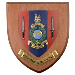45 CDO RM - 45 Commando Royal Marines - Unit Badge / Crest / Plaque