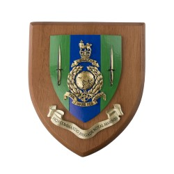 HQ 3 CDO BDE RM - HQ3 Commando Brigade Royal Marines - Unit Badge / Crest / Plaque