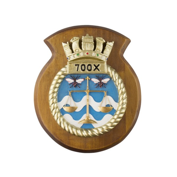 700X NAS - 700X Naval Air Squadron - Unit Badge / Crest / Plaque