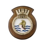 727 NAS - 727 Naval Air Squadron - Unit Badge / Crest / Plaque