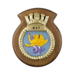 847 NAS - 847 Naval Air Squadron - Unit Badge / Crest / Plaque