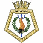 Fort Victoria - RFA - Royal Fleet Auxiliary - Ship Badge / Plaque / Crest