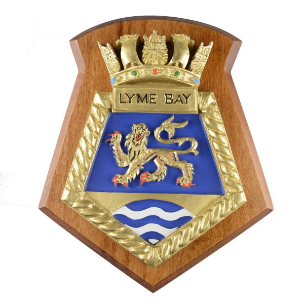 Lyme Bay - RFA - Royal Fleet Auxiliary - Ship Badge / Plaque / Crest